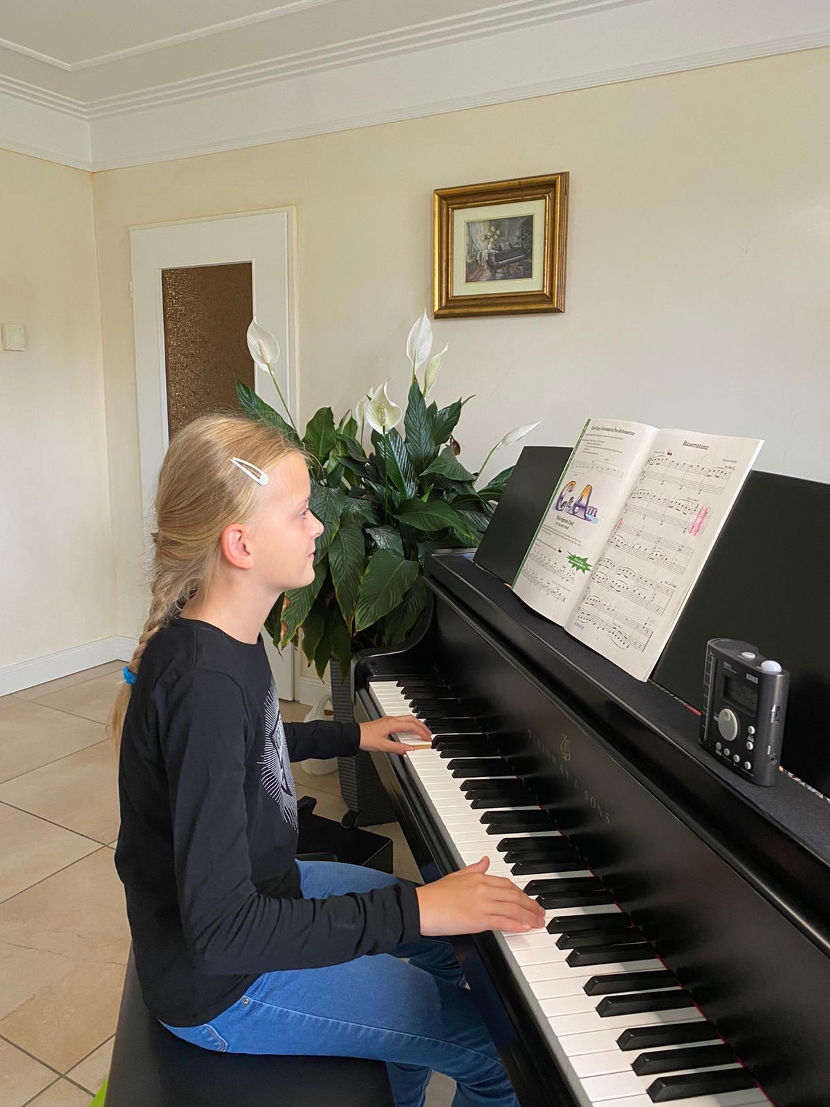 Klavier lernen in Stelle